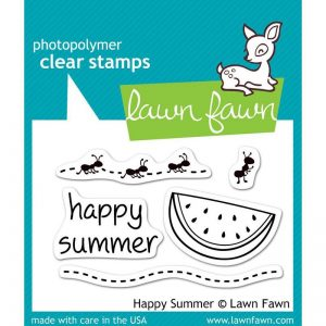 Lawn Fawn Happy Summer Stamp