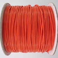 Orange Waxed Cotton Cord