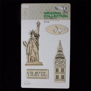 Original Collection Wooden Embellishments Pack - Travel