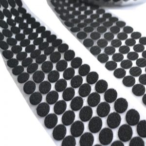 Self Adhesive Velcro Dots - Black