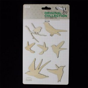Original Collection Wooden Embellishments Pack - Birds