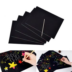 Do it yourself diy craft kits connect4sale quick view diy scratch art kit solutioingenieria Choice Image