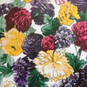 Flowers Decoupage Napkin