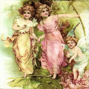 Fairies Decoupage Napkin
