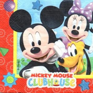 Mickey Mouse Clubhouse Decoupage Napkin