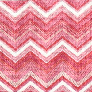 Textured Chevron Decoupage Napkin