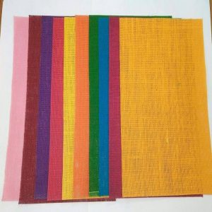 Mixed Colour Jute Sheets Pack
