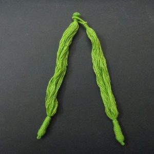 Parrot Green Cotton Thread Neck Rope