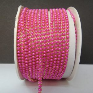 Pink Pearl Chain