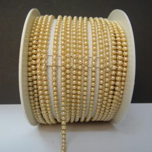 Off White Pearl Chain