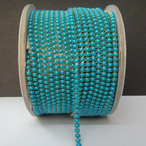 Light Blue Pearl Chain
