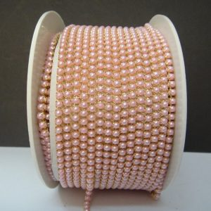 Light Pink Pearl Chain
