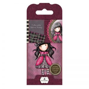 Docrafts Santoro Gorjuss Rubber Stamps - Santoro Mini - No. 5, Ladybird