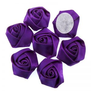 Purple Satin Roses