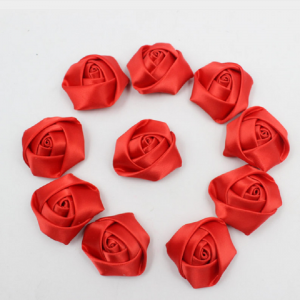 Red Satin Roses