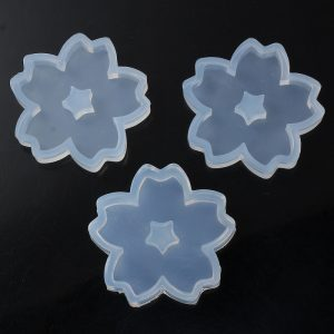 Big Sakura Flower Silicone Mould