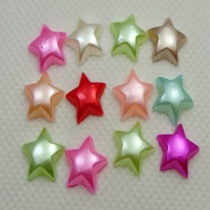 Mixed Colour Pearl Star