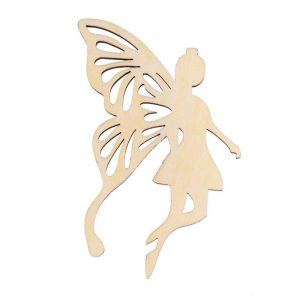 Wooden Angel Embellishment