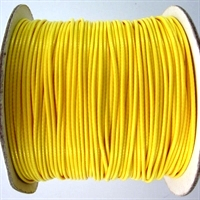 Yellow Waxed Cotton Cord