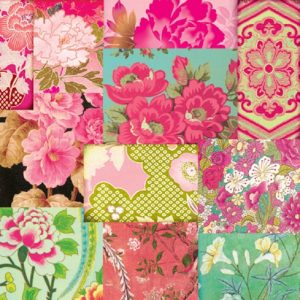 Mixed Colour Flowers Decoupage Napkin