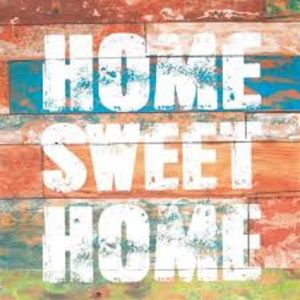 Sweet Home Decoupage Napkin