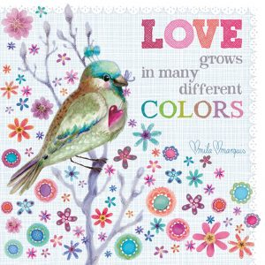 Love Colours Decoupage Napkin