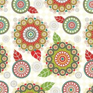 Circles In Designs Decoupage Napkin