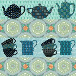 Tea Break Decoupage Napkin