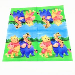 Winnie The Pooh And Friends Decoupage Napkin