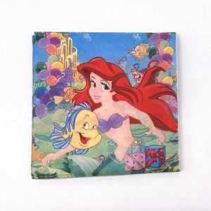 Little Mermaid Decoupage Napkin