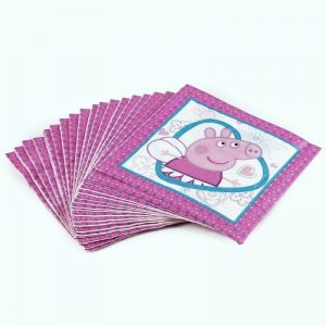 Peppa Pig Cartoon Decoupage Napkin