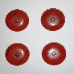 Brown Shape Resin Beads