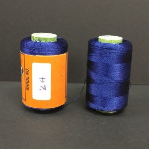 Silk Thread - Dark Blue