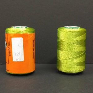 Silk Thread - Parakeet green