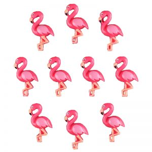 Flamingo Resin Embellishments