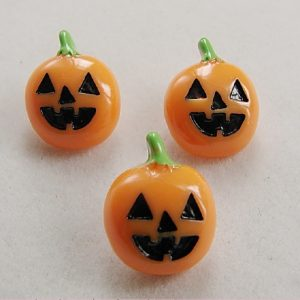 Halloween Pumpkin Resin Embellishment