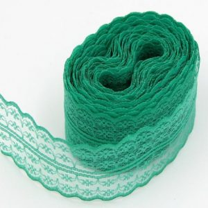Green Lace Trim