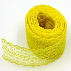 Yellow Lace Trim