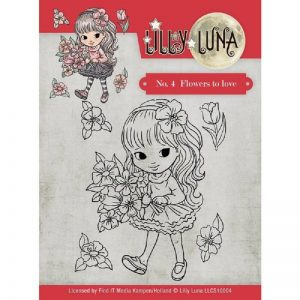 Lilly Luna Flowers To Love Stamp Set
