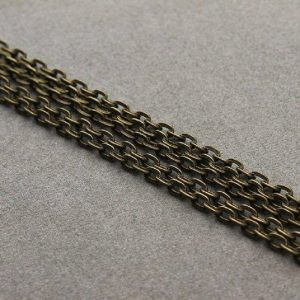 Antique Bronze Plated Link Chain