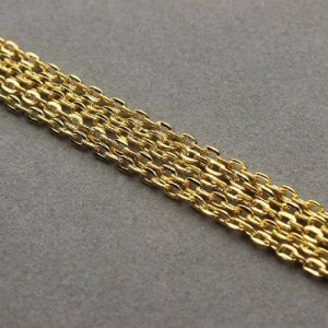 Gold Plated Link Chain