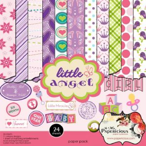 Papericious Designer Edition Little Angel Paper Pack