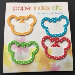 Mickey Metal Index Clips