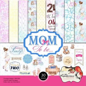 Papericious Designer Edition Mom To Be Paper Pack