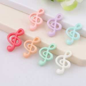 Music Note Resin Embellishment