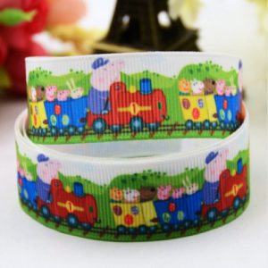 Peppa Pig Theme Grosgrain Ribbon