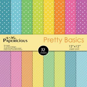 Papericious Designer Edition Pretty Basics Paper Pack