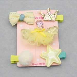 Princess Theme Girls Hair Clips