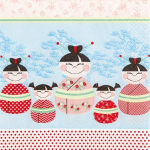 Happy Kids Decoupage Napkin