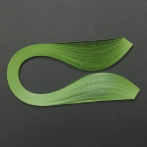 Green 3mm Quilling Strips